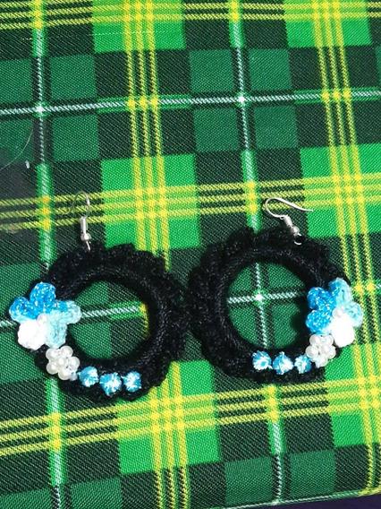 Aretes A Crochet