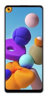 Celular Samsung Galaxy A21s Blanco 64/4gb Techcel Cuotas S/i