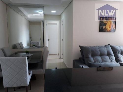 Apartamento Com 2 Dormitórios À Venda, 55 M² Por R$ 397.500,00 - Vila Prudente (zona Leste) - São Paulo/sp - Ap1743