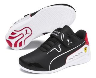 Tenis Puma Unisex Ps Ferrari Sf Drift Cat 8 V Original