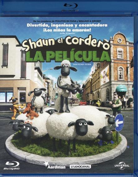 Shaun El Cordero Shaun The Sheep La Pelicula Blu-ray