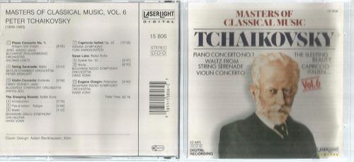 Cd Tchaikovsky Masters Of Classical Music Bonellihq Cx45 E19