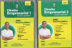 Cd Rom -direito Empresarial 1 E 2- Autor Prof. Alexandre Maz