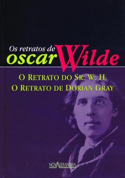 Livro Retratos Oscar Wilde Dorian Gray & Sr W H Ed Luxo Novo