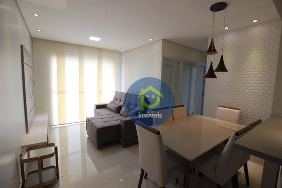 Apartamento Mobiliado Próx. Hospital De Base De 2 Dormitórios Para Alugar, 65 M² Por R$ 2.500/mês - Jardim Novo Mundo - São José Do Rio Preto/sp - Ap7225