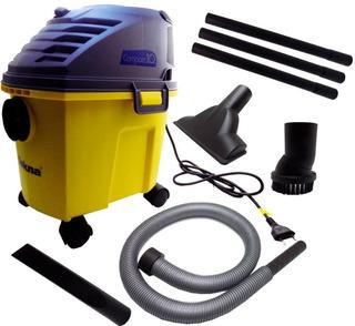 Aspirador De Água E Pó 10 Litros 1000w Compact Tekna-apl110