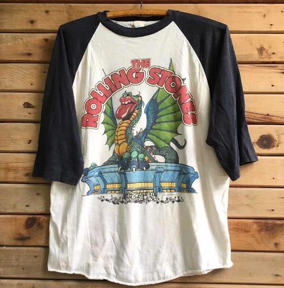 Playera Rolling Stones Vintage Dragon 1981