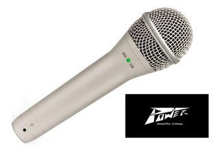 Microfono Samson Q-1u Usb Dinamico De Mano + Soporte Y Cable