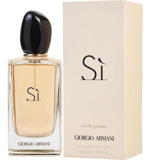 Perfume Si De Giorgio Armani Edp 100ml Nuevo