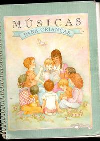 Livros Músicas Para Crianças Com Cifras /1989