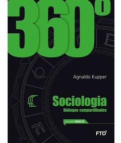 Box Ftd 360° Sociologia 03 Vols Ftd Frete Gratis