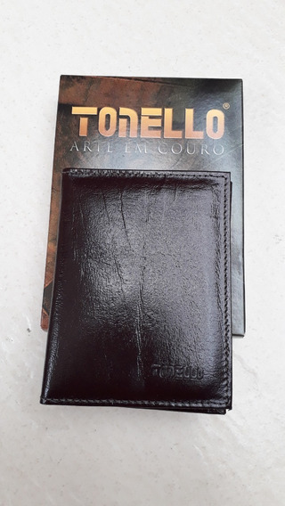 Carteira Porta Documentos Couro Tonello 4026