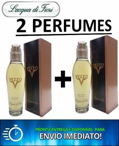 2 Perfumes Vezzo 120ml Lacqua Di Fiori Frete Grátis Original