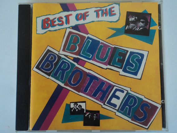 Cd-best Of The Blues Brothers:importado-germany-rock