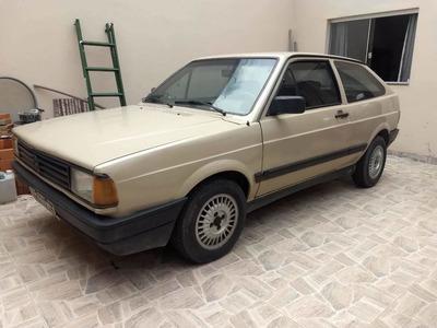 Volkswagen Gol Quadrado Gl 1.8 1990 Gasolina *troco Por Moto