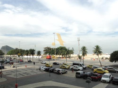 Imagem 1 de 20 de Apartamento Para Alugar Na Avenida Atlântica - Copacabana - Loc0076d - 31974033