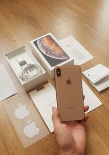 iPhone Xs Max Apple Dourado 256gb - Face Id Inoperante