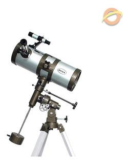 Telescopio Reflector Astronomico Lunar Montura Ecuatorial