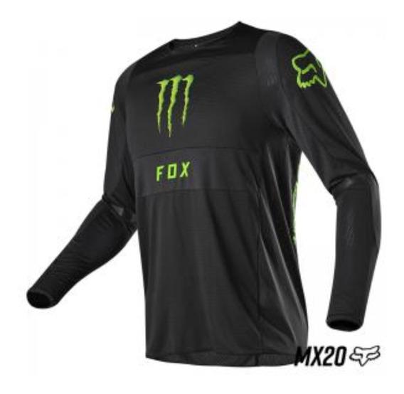Jersey Fox Monster Pro Circuit Motocross All Road Bicicleta