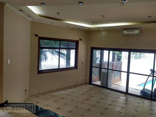 Imagem 1 de 8 de Casa Com 4 Dormitórios À Venda, 300 M² Por R$ 1.850.000,00 - Parque Taquaral - Campinas/sp - Ca1943