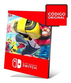 Arms - Jogo Nintendo Switch - Código Digital
