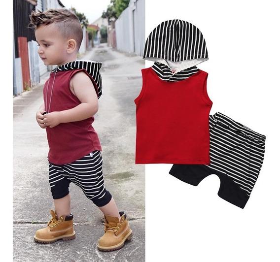 Conjunto Masculino Criança Menino Bebê E Infantil Camisa E Bermuda Super Preço