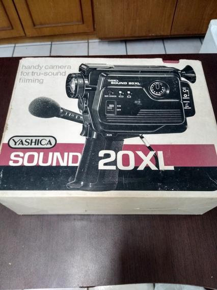Filmadora Yashica Sound 20xl 8mm