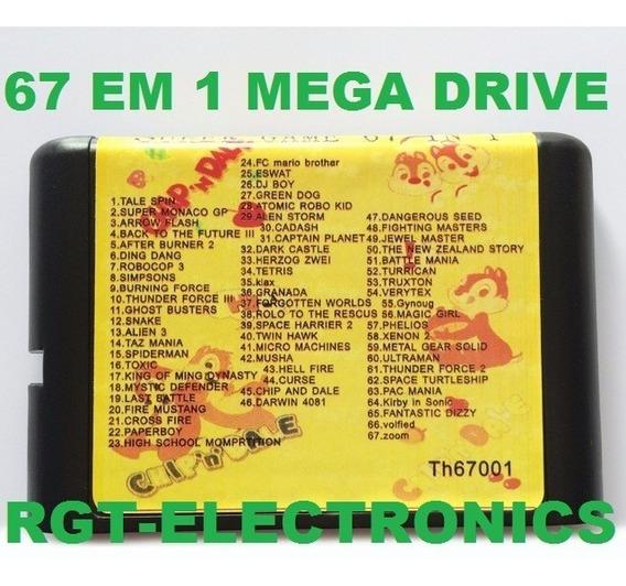 67 In 1 Mega Drive / Sega Genesis / Imperdivel! Frete Cr