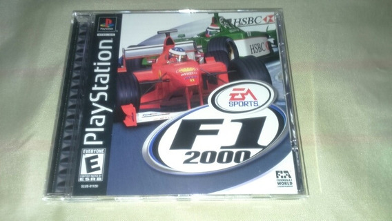 F1 2000 Ps1 Original Completo