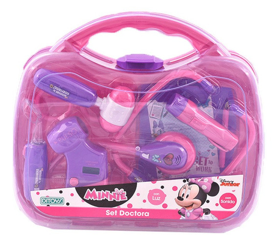 Disney Junior Set Doctora Minnie Ditoys