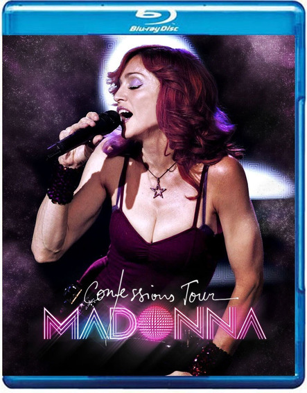Bluray Madonna - The Confessions Tour (madame X)