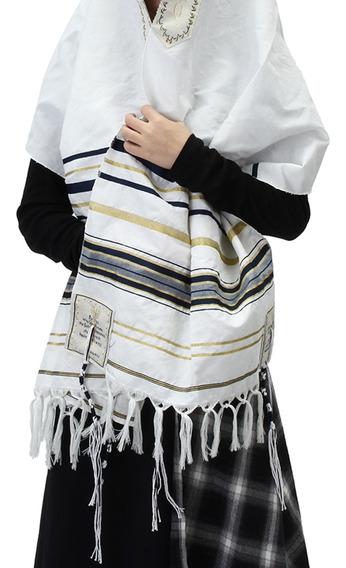 Invierno De Las Mujeres Bufanda Mesiánico Judío Tallit Ora