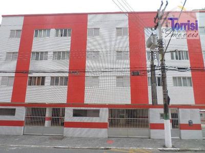 Apartamento Em Praia Grande, Próximo Da Praia 01 Dormitório, Sala, Cozinha. Prédio Com Garagem Na Tupi Ap1681 - Ap1681