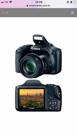 Câmera Cânon Semi Profissional Sx20hs 16mp Zoom Óptico 42x