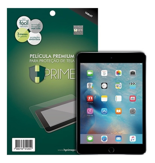 Película Hprime Vidro Temperado Apple iPad Mini 4 / Mini 5