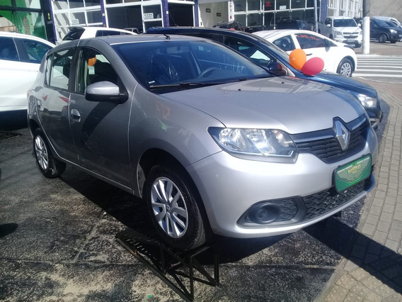 Renault Sandero Authentique 1.0 Financiamento Sem Entrada !!