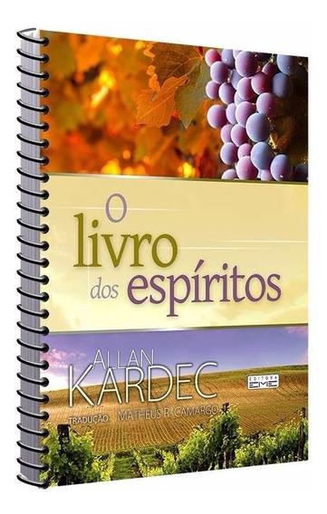 Livro Dos Espiritos Espiral / Tamanho Extra / Espiral