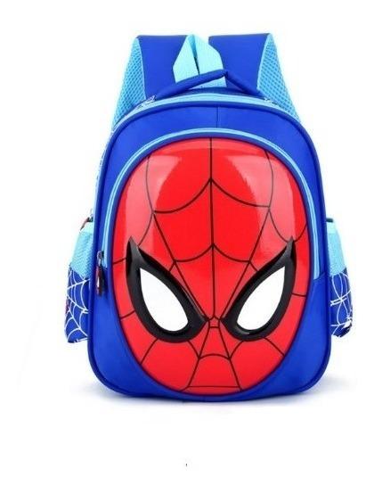 Mochila Bolsa Infantil Menino Homem Aranha