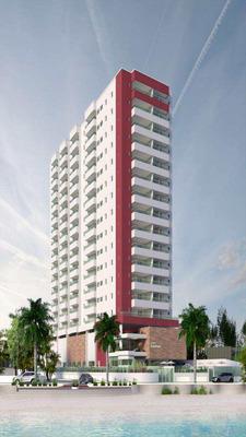 Apartamento Em Praia Grande À Venda ...frente Para O Mar !!! - V6578