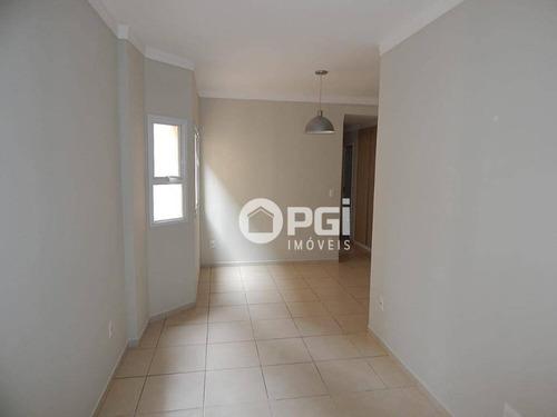 Apartamento Com 2 Dormitórios Para Alugar, 67 M² Por R$ 1.100,00/mês - Jardim Irajá - Ribeirão Preto/sp - Ap5855