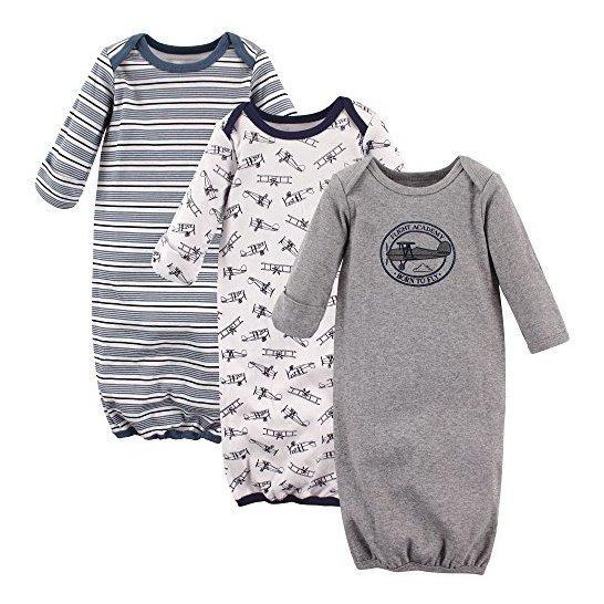 Batas De Algodon Unisex Baby Baby Hudson
