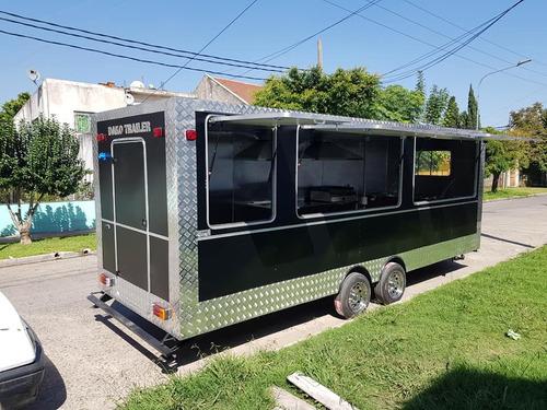 Food Trucks 6 Metros Con Frenos Somos Fabrica.