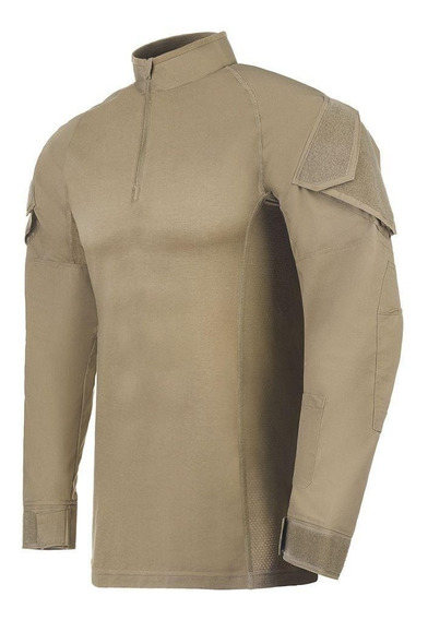 Camisa De Combate Invictus Operator Caqui Mojave