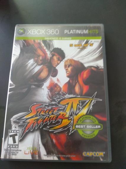 Jogo Street Fighter 4 Xbox 360 Mídia Física