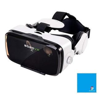 Lentes Virtuales Vr Realidad Control 42mm Esférica Audifono