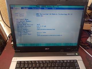 Laptop Acer Aspire 5000 Para Piezas. Funciona!!!