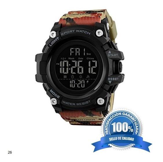 Reloj Deportivo Militar Con Pantalla Digital Original Skmei