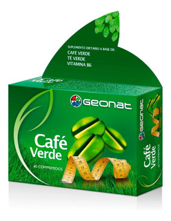 Geonat Cafe Verde 60 Comprimidos Suplemento Dietario
