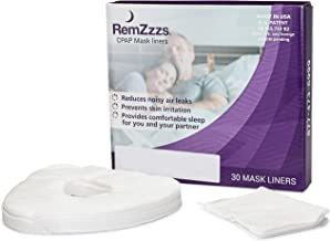 Remzzzs Full Face Cpap Mask Liners (k2-fm) - Reduce Noisy Ai