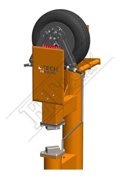 Martelete Power Hammer Pneus Cutelaria Forja Aço -impresso